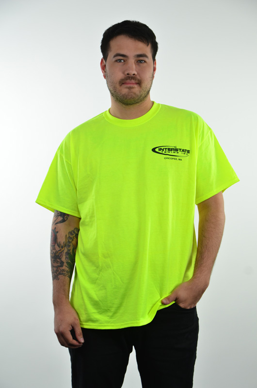 "Men's Safety Green ""Recovery Operator"" T-shirt"