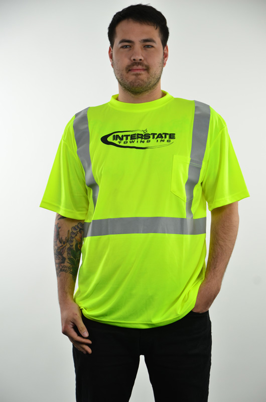 """Men's Safety """"Recovery Operator"""" Reflective Mositure Wicking Shirt"""