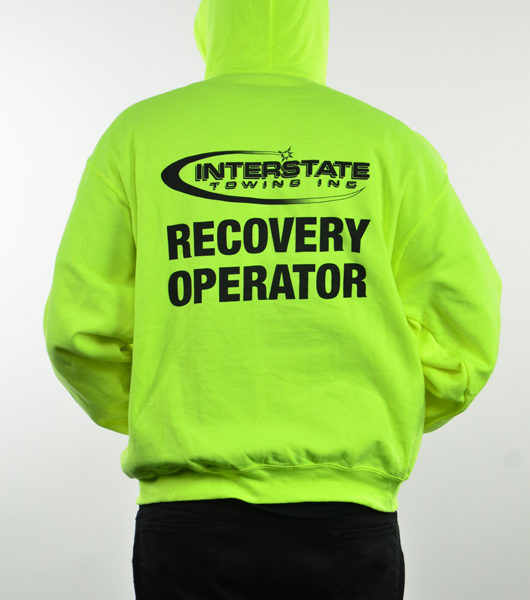"Men's ""Recovery Operator"" Hoodie"