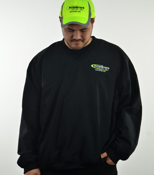 Safety Green Hat with Reflective Trim