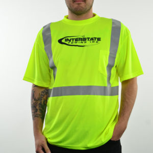"Men's Safety ""Recovery Operator"" Reflective Mositure Wicking Shirt"