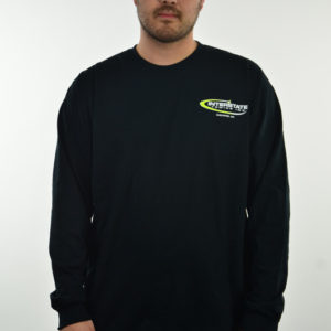 Men's Black Long Sleeved T-Shirt